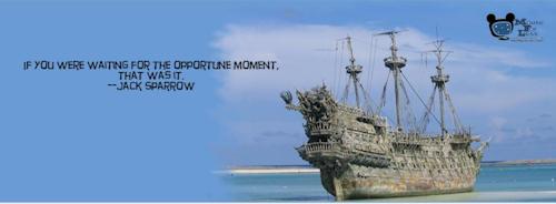 Disney Pirates Timeline Facebook Cover