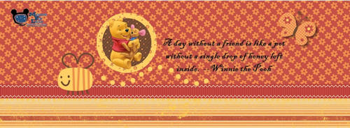 Winnie the Pooh Facebook Timeline Cover