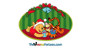Winnie the Pooh Luggage Tag Back
