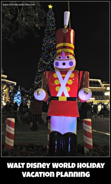 Walt disney World Holiday Vacation Planning