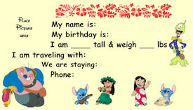Lilo and Stitch Kids ID