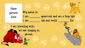 Lion King Kids ID