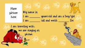Lion King Kids ID