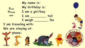 Winnie The Pooh Kids ID