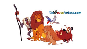 Lion King Luggage Tag Back