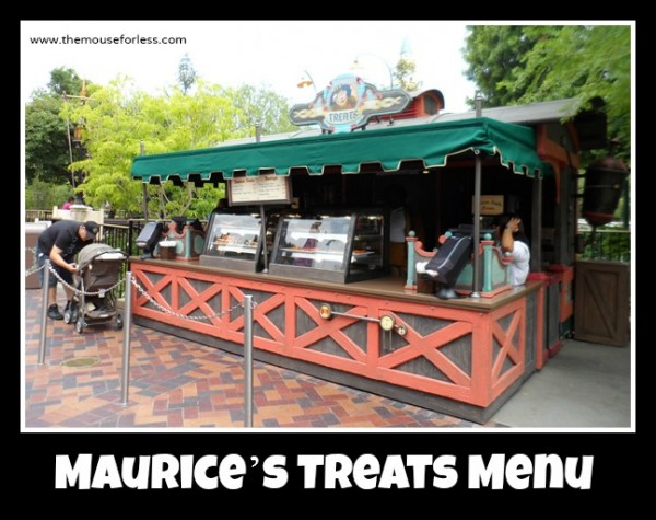 Maurice's Treats Menu
