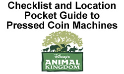 Animal Kingdom Pressed Penny Checklist Pocket Guide