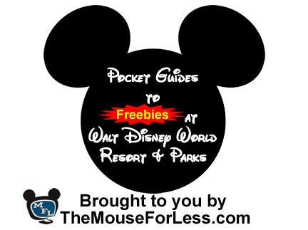 Walt Disney World Freebies Pocket Guides