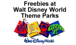Freebies at Walt Disney World Theme Parks