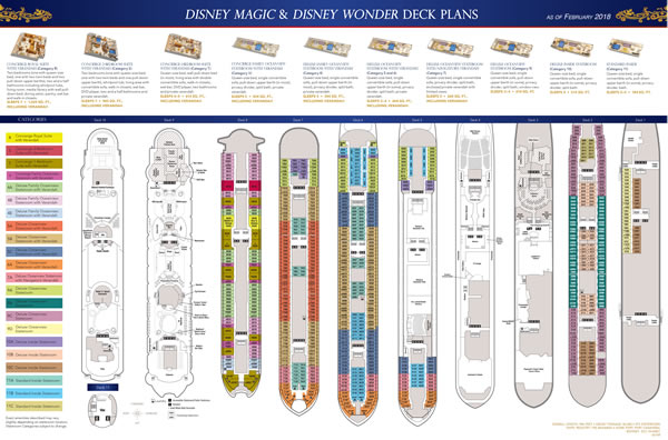 Disney Wonder/Magic Deck 3