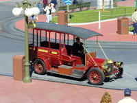 Main Street U.S.A vehicle