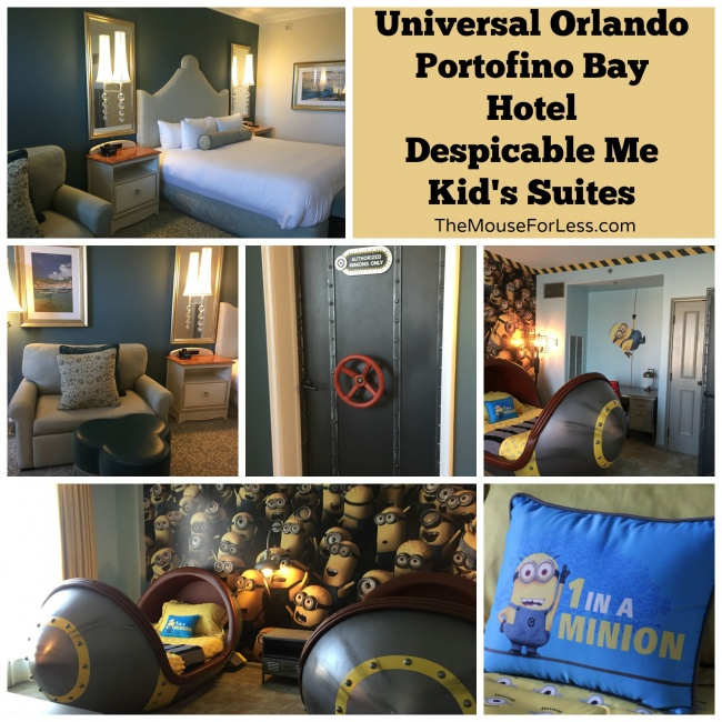 Portofino Bay Despicable Me Kid's Suites