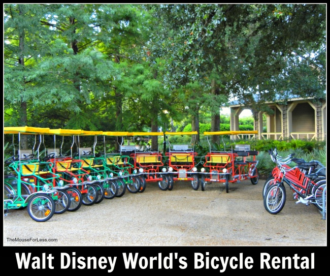 Walt Disney World Bicycle Rentals