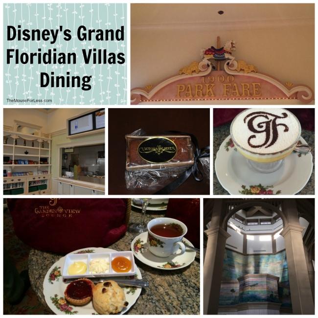 Disney's Grand Floridian Villas Dining