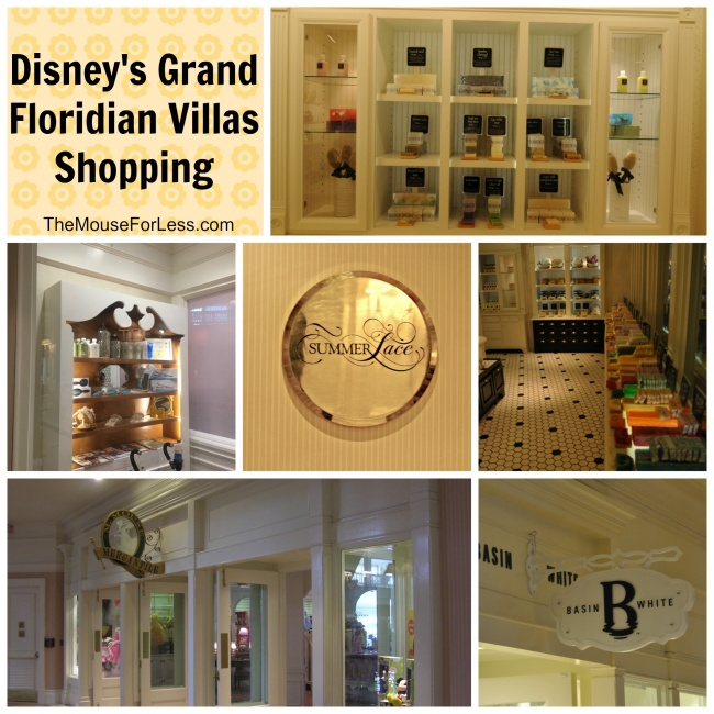 Disney's Grand Floridian Villas Shopping