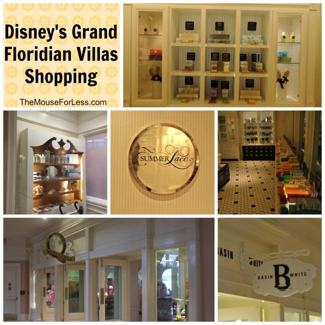 Disney's Grand Floridian Villas Shopping