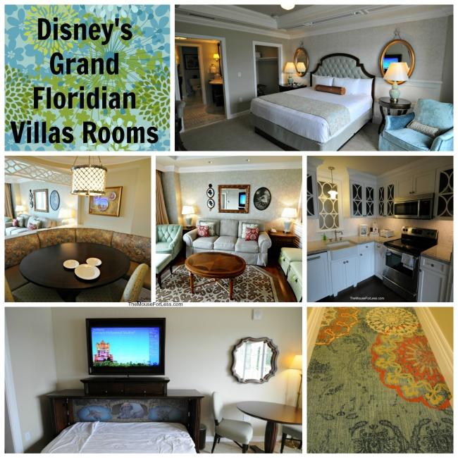 Disney's Grand Floridian Villas Rooms