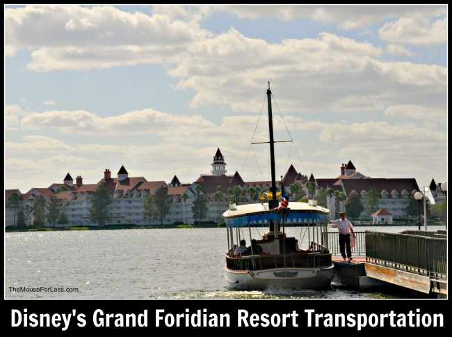 Disney's Grand Floridian Resort and Spa Transportation