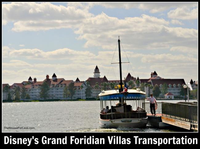 Disney's Grand Floridian Villas Transportation