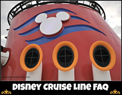 Disney Cruise Line Frequently Asked Questions