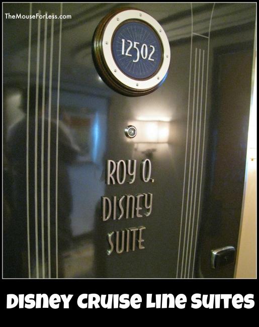 Disney Cruise Line Staterooms Suites