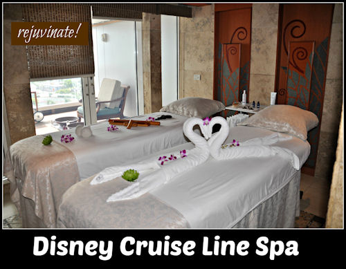 Disney Cruise Line Spa
