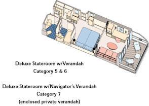 Deluxe Stateroom with Verandah