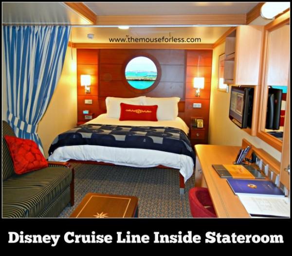 Disney Cruise Line Inside Stateroom