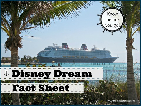 Disney Dream Fact Sheet