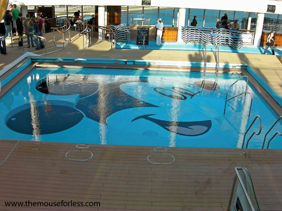 Disney cruise line recreation activities and pools for Swimming pool meaning in dreams