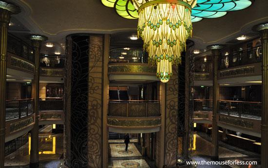 Disney Fantasy Atrium #DCL
