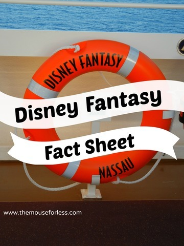 Disney Fantasy Ship Facts