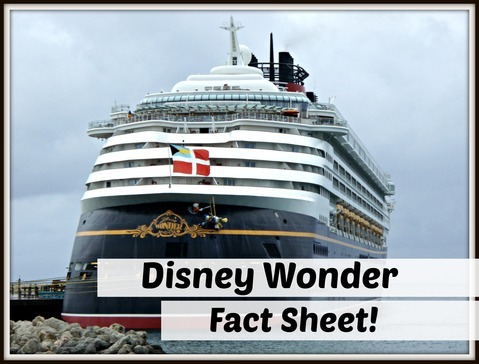 Disney Wonder Fact Sheet