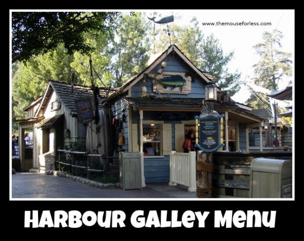 Harbour Galley Menu
