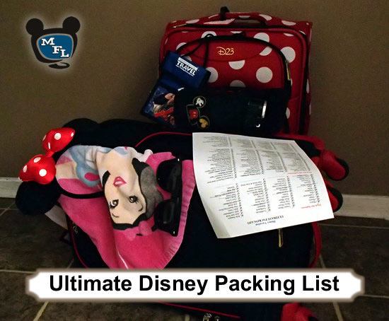 Ultimate Packing List for Disney Vacations