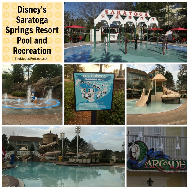 Disney's Saratoga Springs Resort Recreation