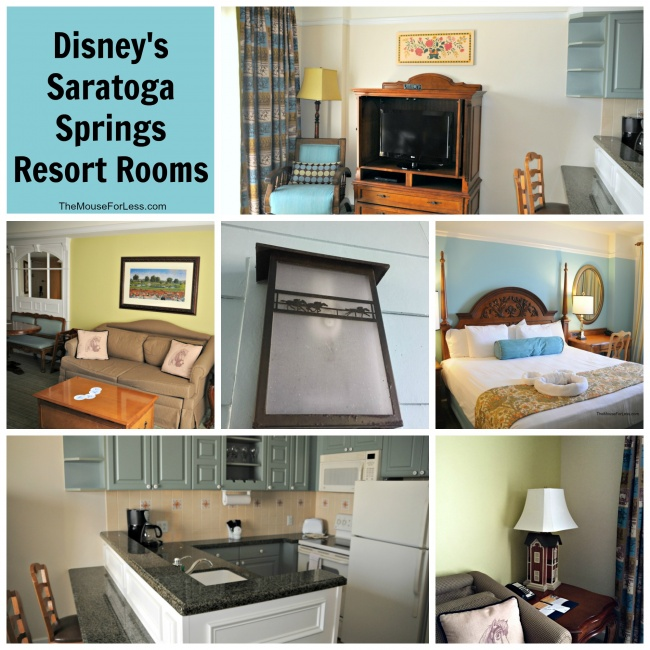 Disney's Saratoga Springs Resort Rooms