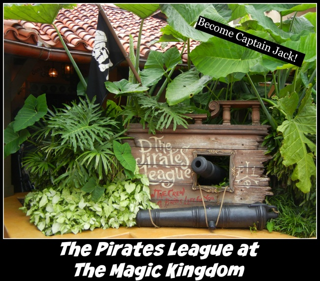 Pirates league at the Magic Kingdom