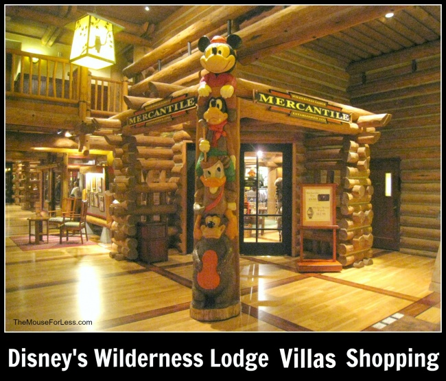 Disney's Wilderness Lodge Villas Shopping