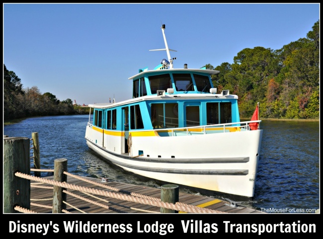 Disney's Wilderness Lodge Villas Transportation