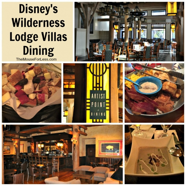 Villas Dining Collage