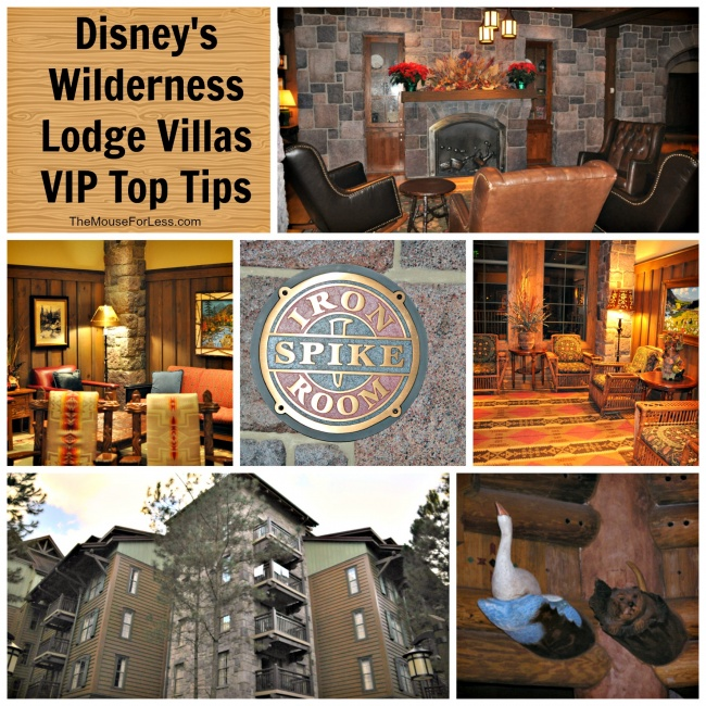 Disney's Wilderness Lodge Villas Top Tips