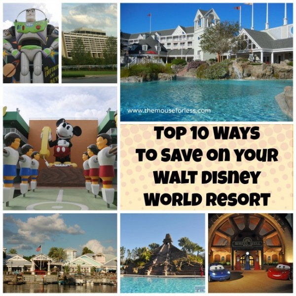 Top 10 ways to save on your WDW resort