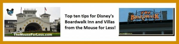 Boardwalk Inn and Villas Top Ten Tips collage