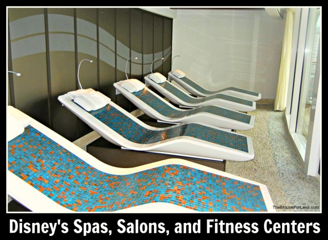 Walt Disney World Spas, Salons, and Fitness Centers