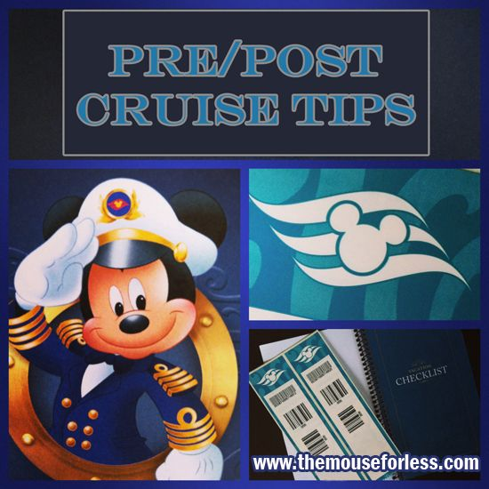 Pre/Post Cruise Tips
