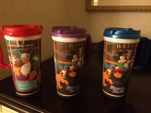Rapid Fill Mugs at WDW