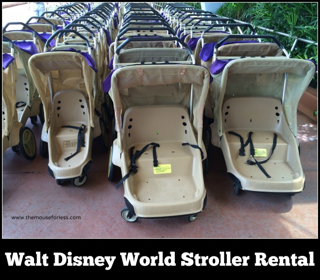 Stroller Rental at Walt Disney World