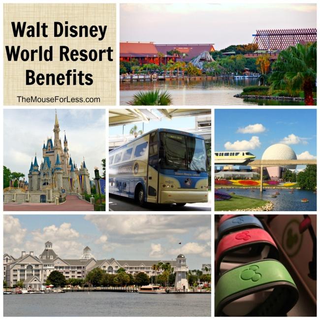 Walt Disney Resort Benefits