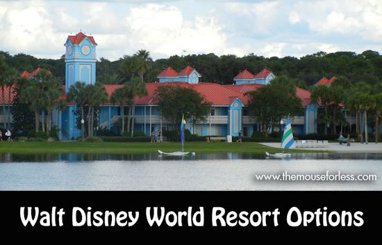 Where to Stay for Your Walt Disney World Vacation